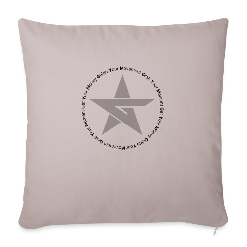 G Star Sweat Grey - Sofa pillow with filling 45cm x 45cm