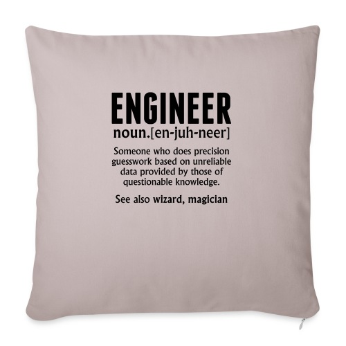 ENGINEER - Sofa pillow with filling 45cm x 45cm
