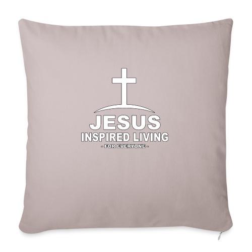 Jesus Inspired Living - Soffkudde med stoppning 44 x 44 cm