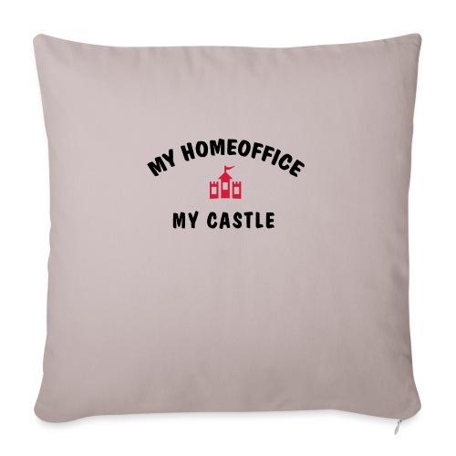MY HOMEOFFICE MY CASTLE - Sofakissen mit Füllung 44 x 44 cm