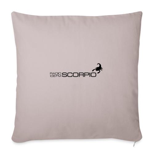 scorpio logo - Bankkussen met vulling 44 x 44 cm