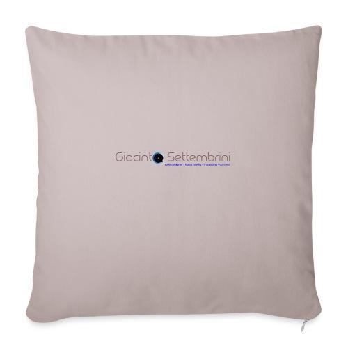 Giacinto Settembrini Web & Social - Cuscino da divano 44 x 44 cm con riempimento