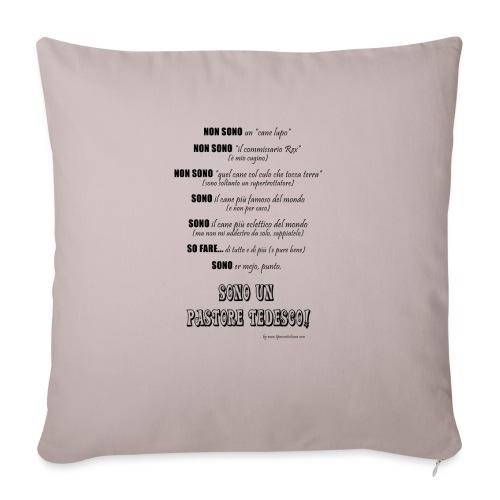 Vero standard PT - Cuscino da divano 44 x 44 cm con riempimento
