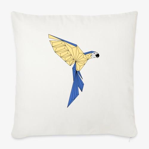 Papagei geometrisch - Sofakissen mit Füllung 44 x 44 cm