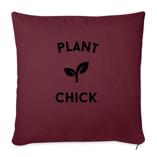 Plant Chick Vegetarische veganistische tuin - Bankkussen met vulling 44 x 44 cm