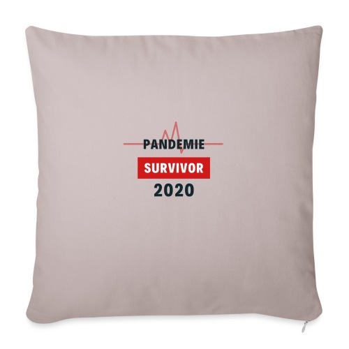 Pandemie Survivor - Sofakissen mit Füllung 44 x 44 cm
