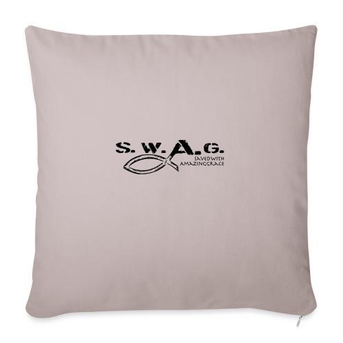 SWAG Art - Sofakissen mit Füllung 44 x 44 cm