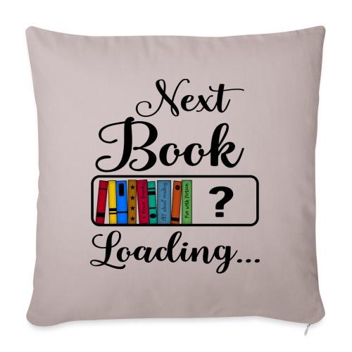 Hobby Lesen Bücher Nerd Ladebalken Book Loading - Sofakissen mit Füllung 44 x 44 cm