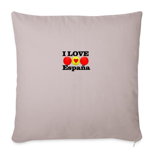 yo amo a España I love España - Cojín de sofá con relleno 44 x 44 cm