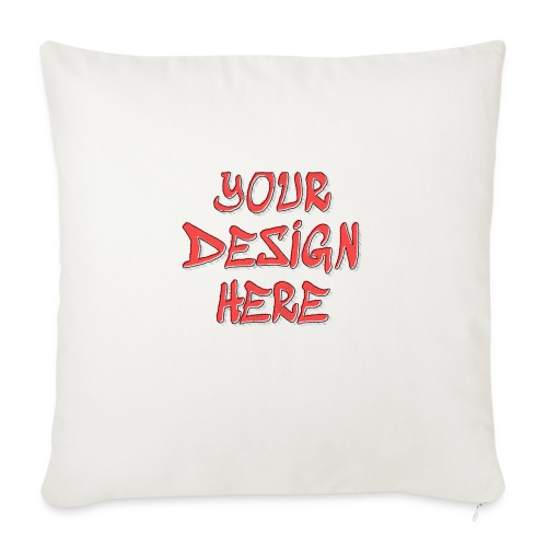 TextFX - Sofa pillow with filling 45cm x 45cm