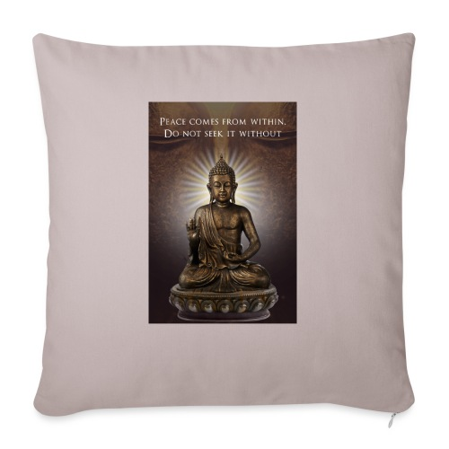 Peace from Within - Sofa pillow with filling 45cm x 45cm