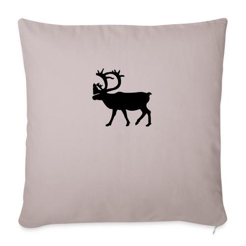 Le Caribou - Coussin et housse de 45 x 45 cm
