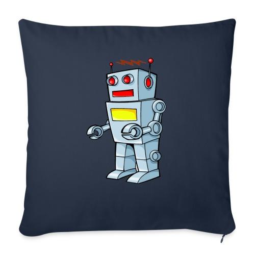Robot - Cuscino da divano 44 x 44 cm con riempimento