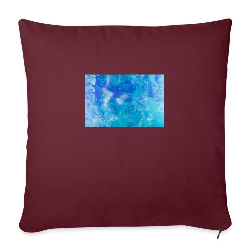 onde - Cuscino da divano 44 x 44 cm con riempimento
