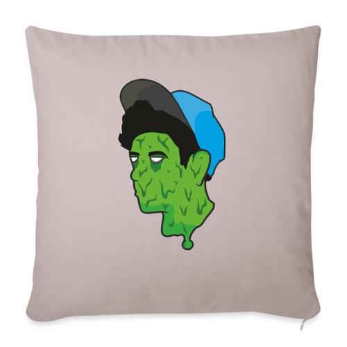 TUMBLR BOI GRAPHIC SHIRT - Sofa pillow with filling 45cm x 45cm