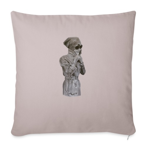 Colección Jackie sin fondo - Cojín de sofá con relleno 44 x 44 cm