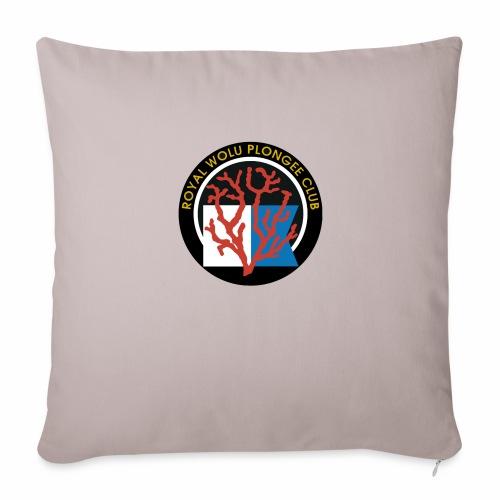 Royal Wolu Plongée Club - Coussin et housse de 45 x 45 cm