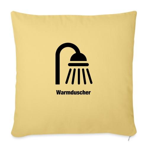 Warmduscher - Sofakissen mit Füllung 44 x 44 cm