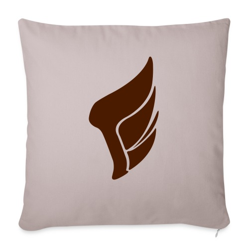 WING_logo_2016 - Sofa pillow with filling 45cm x 45cm