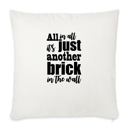 another brick vect - Coussin et housse de 45 x 45 cm