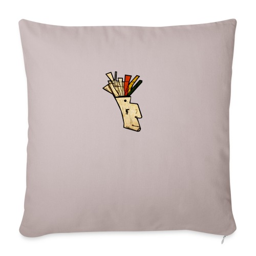 Indian - Sofa pillow with filling 45cm x 45cm