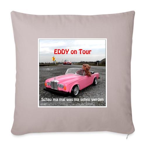 EDDY on TOUR 1 - Sofakissen mit Füllung 44 x 44 cm