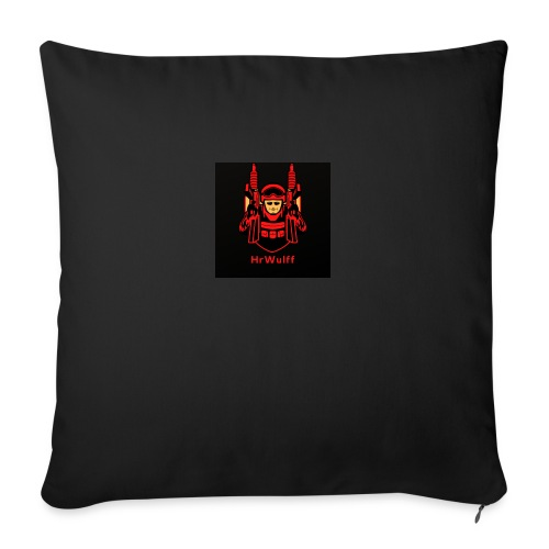 HrWulff Gaming Logo - Sofapude med fyld 44 x 44 cm