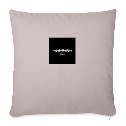 LGUIGNE - Coussin et housse de 45 x 45 cm