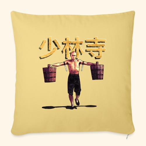 Shaolin Warrior Monk - Bankkussen met vulling 44 x 44 cm