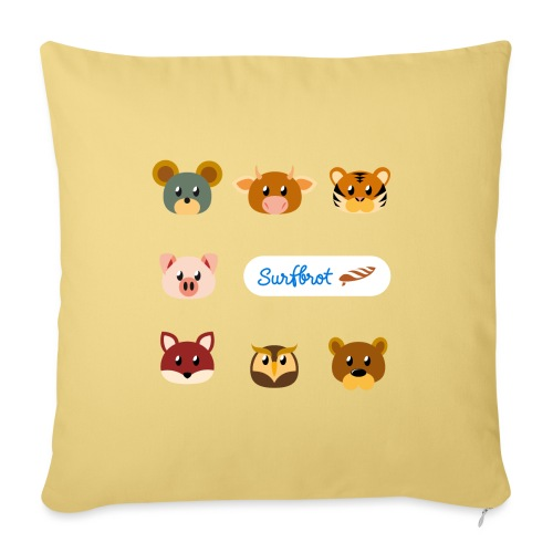 Surfbrot Serie 1 - Sofa pillow with filling 45cm x 45cm