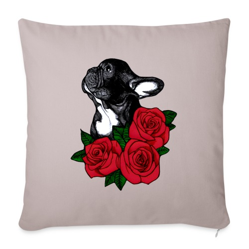The French Bulldog Is So Famous - Sofa pillow with filling 45cm x 45cm