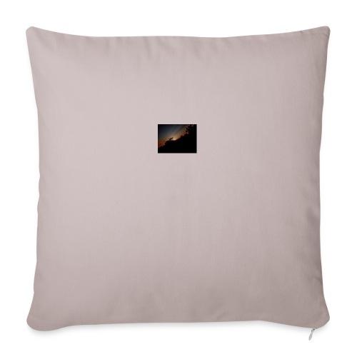Cielo eclipsado - Cojín de sofá con relleno 44 x 44 cm