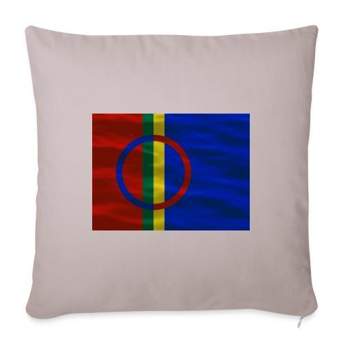 Sapmi flag - Sofapute med fylling 44 x 44 cm