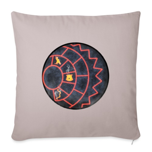 Jeff's Orb - Sofa pillow with filling 45cm x 45cm
