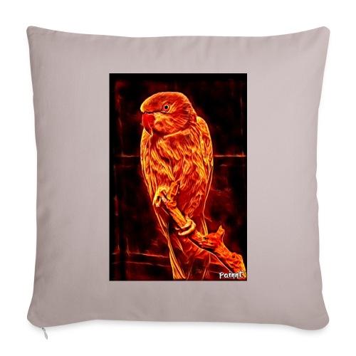 Bird in flames - Sohvatyynyt täytteellä 44 x 44 cm