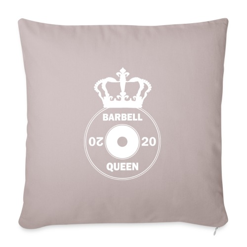 The Barbell Queen - Sofa pillow with filling 45cm x 45cm