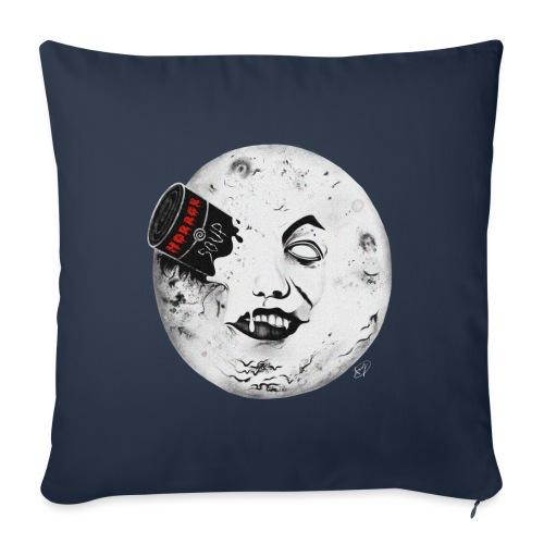 Viaggio nell'Horror - Cuscino da divano 44 x 44 cm con riempimento
