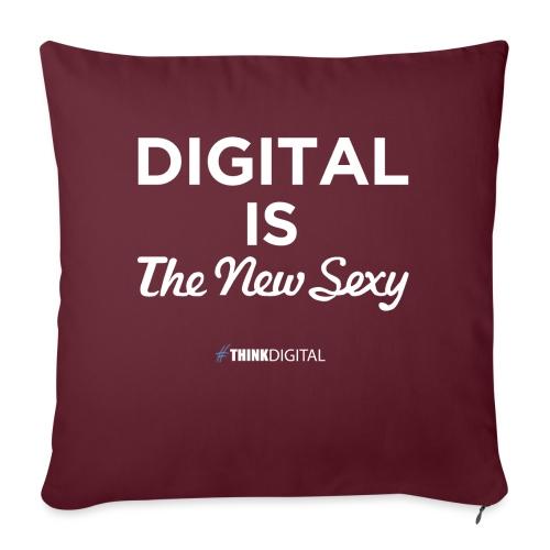 Digital is the New Sexy - Cuscino da divano 44 x 44 cm con riempimento