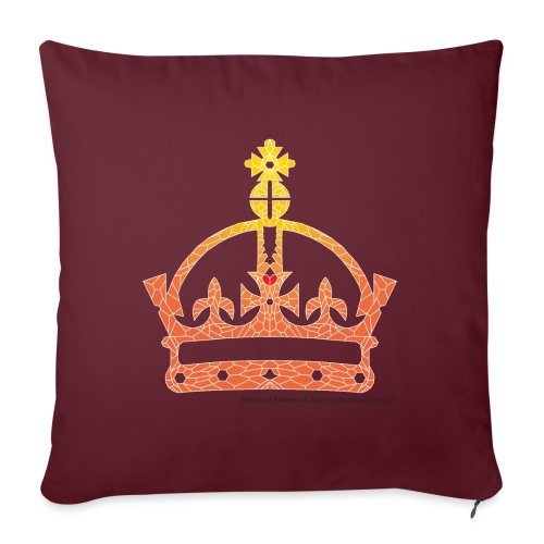The King's Crown - Sofa pillow with filling 45cm x 45cm