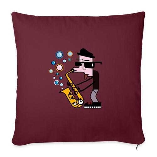 Music 6 - Cuscino da divano 44 x 44 cm con riempimento
