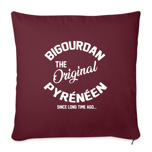 BIGOURDAN - Coussin et housse de 45 x 45 cm