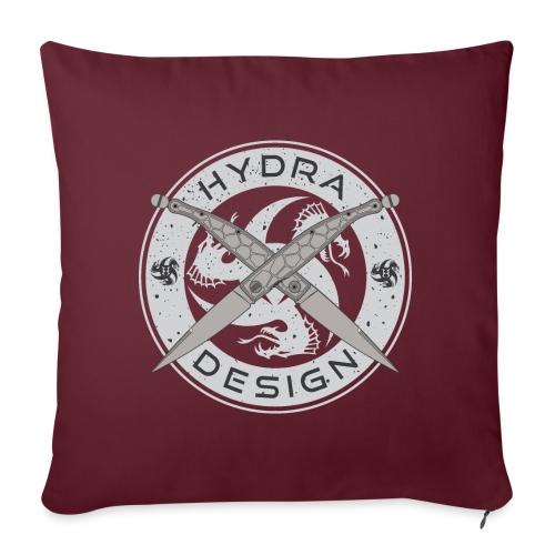 Hydra Design Roman Knives - Cuscino da divano 44 x 44 cm con riempimento