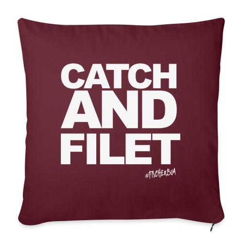 Catch and Filet - Sofakissen mit Füllung 44 x 44 cm