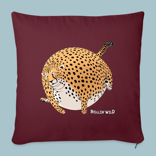 Rollin'Wild - Cheetah - Sofa pillow with filling 45cm x 45cm