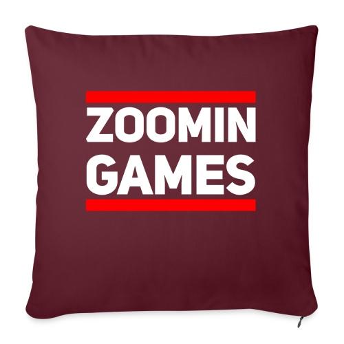 9815 2CRun ZG White - Sofa pillow with filling 45cm x 45cm