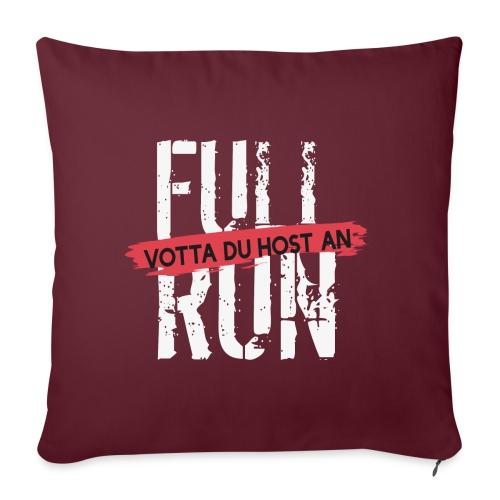 Full Run - Sofakissen mit Füllung 44 x 44 cm