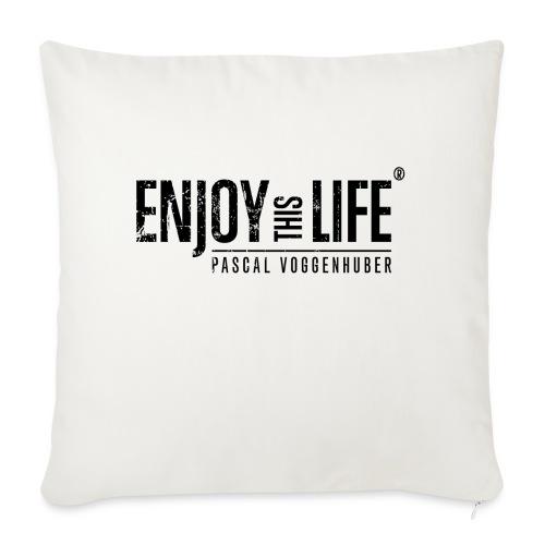 Enjoy this Life®-Classic Black Pascal Voggenhuber - Sofakissen mit Füllung 44 x 44 cm