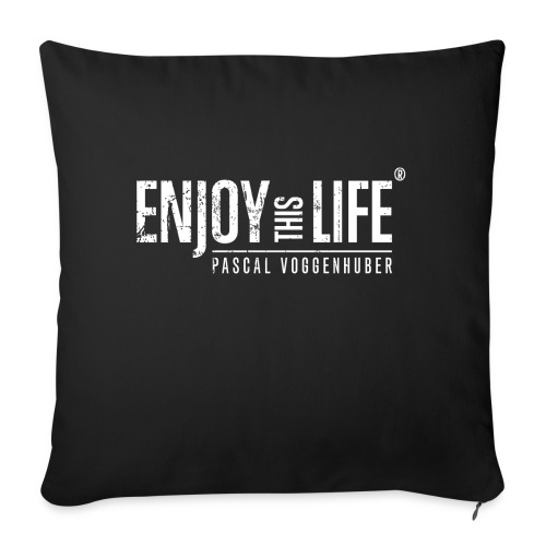 Enjoy this Life® Classic weiss Pascal Voggenhuber - Sofakissen mit Füllung 44 x 44 cm