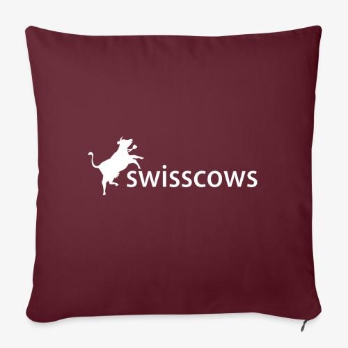 Swisscows - Logo - Sofakissen mit Füllung 44 x 44 cm