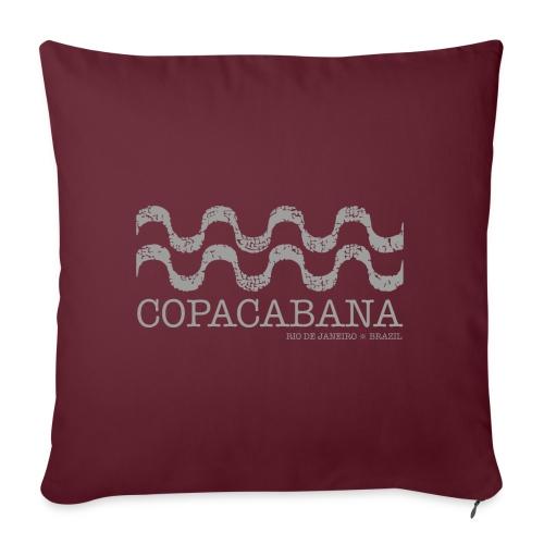 Copacabana - Cojín de sofá con relleno 44 x 44 cm